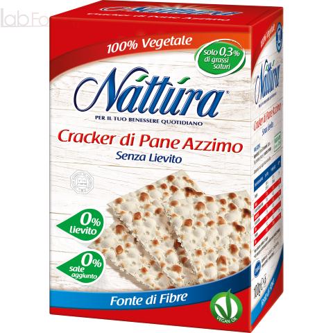 NATTURA CRACKER DI PANE AZZIMO (12 CRACKER RETTANGOLARI)
