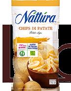 NATTURA CHIPS DI PATATE (-75% DI GRASSI)