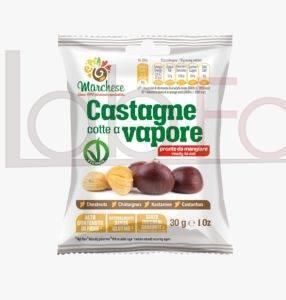 CASTAGNE COTTE AL VAPORE GR 30 MARCHESE