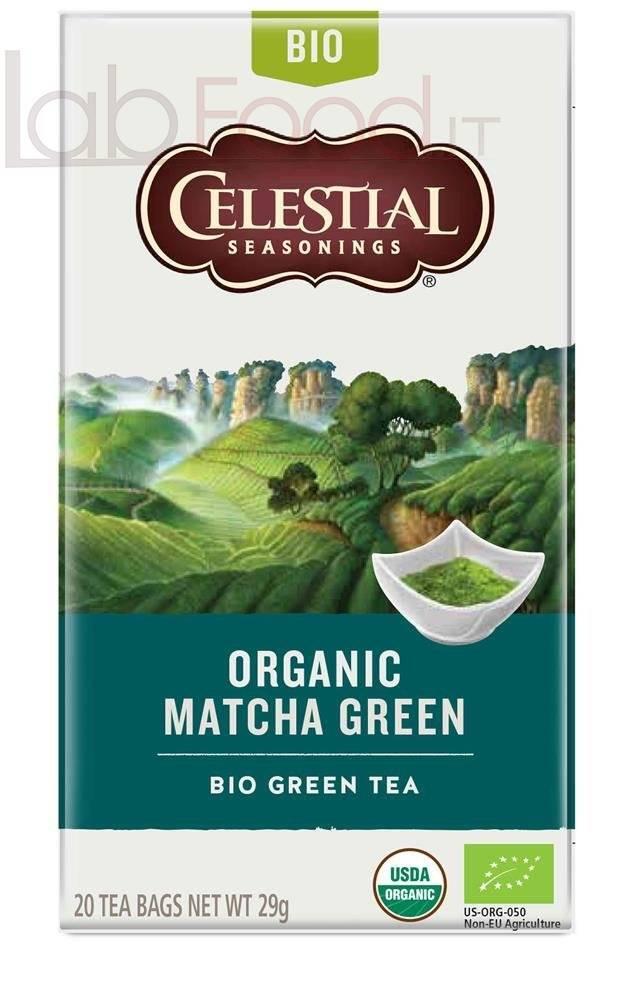 THE VERDE CELESTIAL ORGANIC MATCHA CREEN TEA
