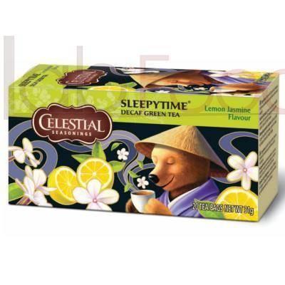 THE VERDE CELESTIAL DECAF SLEEPYTIME LEMON JASMINE