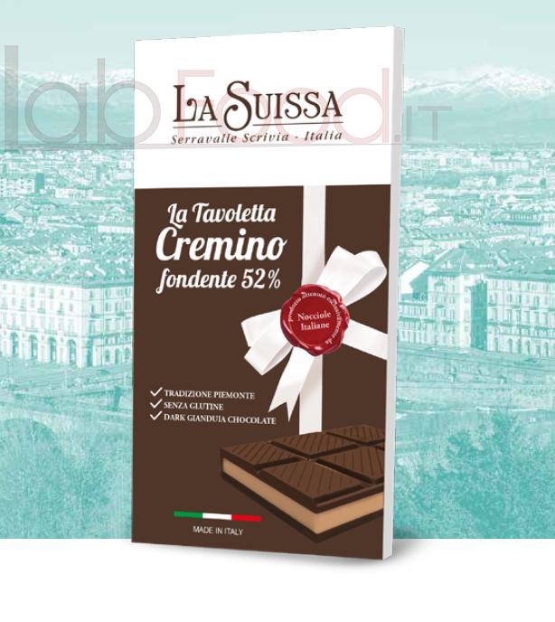 LA SUISSA TAVOLETTA CREMINO FONDENTE GR 120
