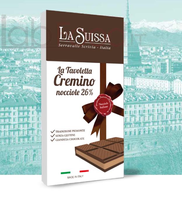 LA SUISSA TAVOLETTA CREMINO LATTE GR 120