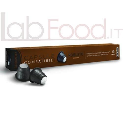 CAFFITALY COMPATIBILE  NESPRESSO ROBUSTO X 10