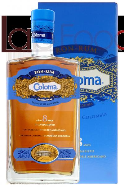 RUM COLOMA 8 ANNI 70 CL