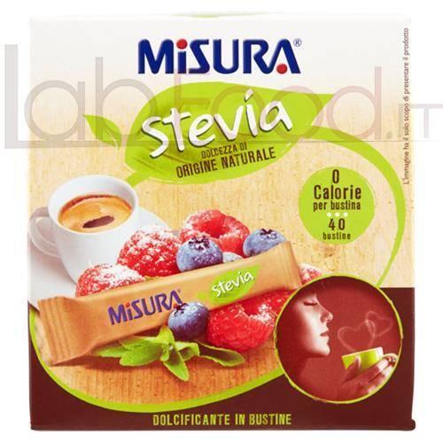 MISURA STEVIA  DOLCIFICANTE BUSTINE 40 BUSTINE 60