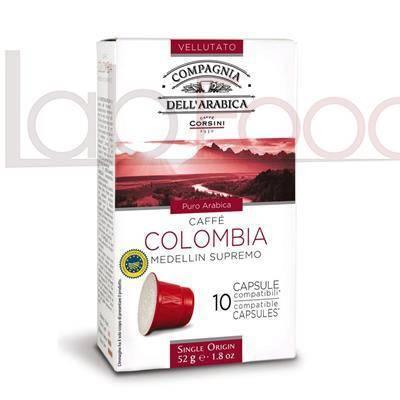 CAFFE CORSINI COMPATIBILE NESPRESSO COLOMBIA X 10