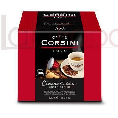CAFFE CORSINI COMPATIBILE  NESPRESSO  (100 PZ)