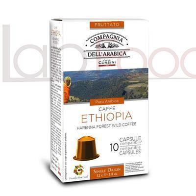 CAFFE CORSINI COMPATIBILE NESPRESSO ETHIOPIA X 10