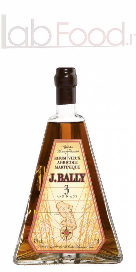BALLY PIRAMIDE RUM 3 YO CL 70 40°