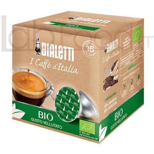 BIALETTI CAFFE BIOLOGICO X 16