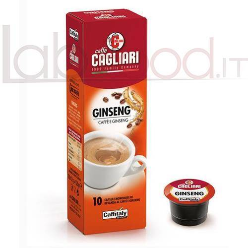 CAFFITALY CAGLIARI GINSENG  X 10