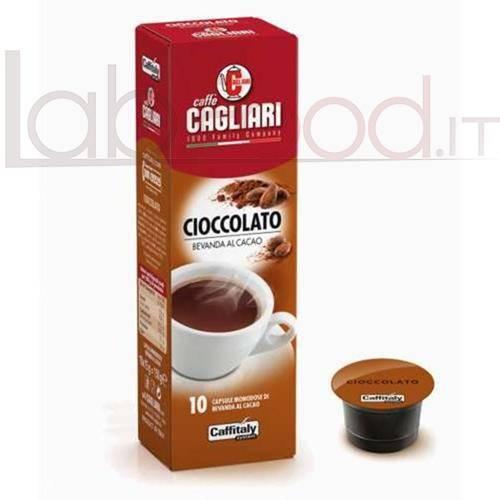 CAFFITALY CAGLIARI CIOCCOLATO CHOCO PASS X 10