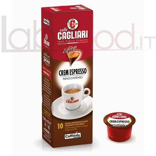 CAFFITALY CAGLIARI CREM ESPRESSO X 10