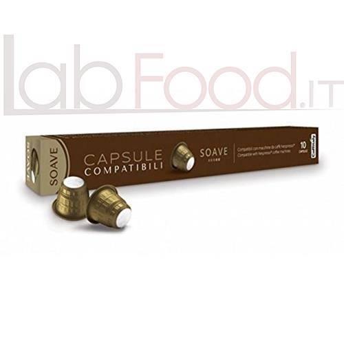 CAFFITALY COMPATIBILE  NESPRESSO SOAVE X 10