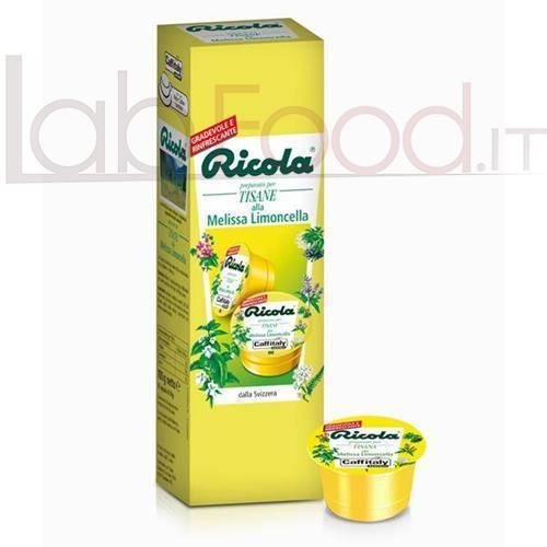 CAFFITALY RICOLA MELISSA LIMONCELLA X 10