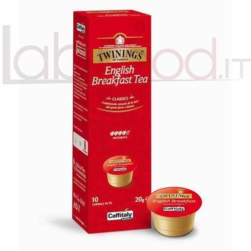 CAFFITALY TWININGS ENGLISH BREAK X 10