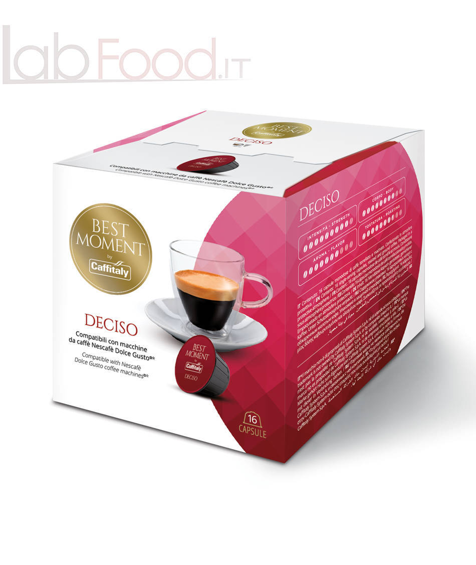 CAFFITALY DOLCE GUSTO DECISO X16
