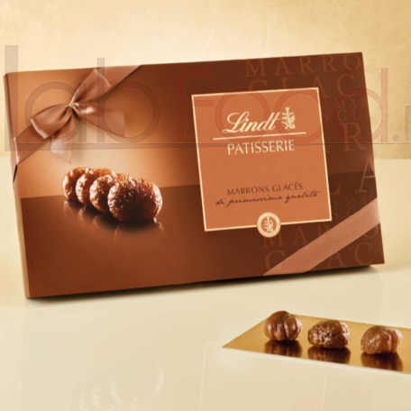 LINDT SCATOLA MARRON GLACEES 230G