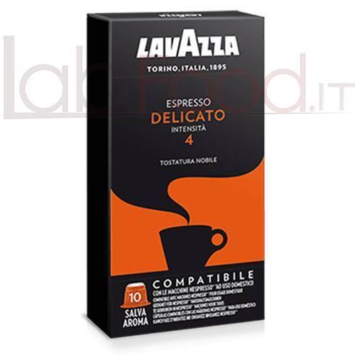 LAVAZZA COMPATIBILE  NESPRESSO DELICATO  X 10