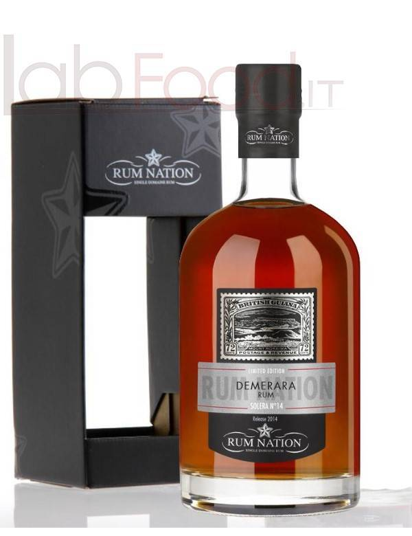 RUM NATION DEMERARA CL 70