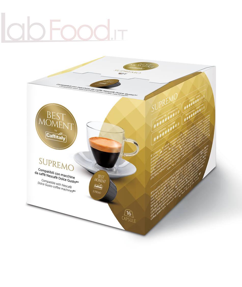 CAFFITALY COMPATIBILE NESCAFE DOLCE GUSTO SUPREMO X16